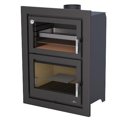 Bronpi Murano-E Wood Cassette Fire - With Oven