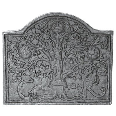 Calfire Royal Oak Midi Cast-Iron Fire Back Plate