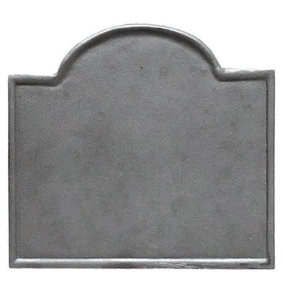 Calfire Plain Small Cast-Iron Fire Back Plate