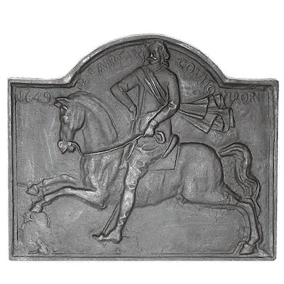 Calfire Fairfax Cast-Iron Fire Back Plate
