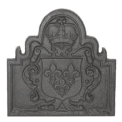 Calfire Shield Cast-Iron Fire Back Plate
