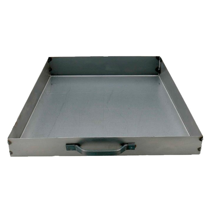 Manor Tapered Ashpan - Silver