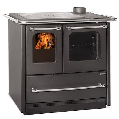 La Nordica Sovrana Easy Wood Burning Range Cooker