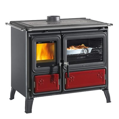 La Nordica Mily Wood Burning Range Cooker