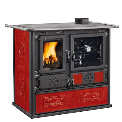 La Nordica Rosa Wood Burning Range Cooker