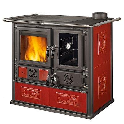 La Nordica Rosa Reverse Wood Burning Range Cooker