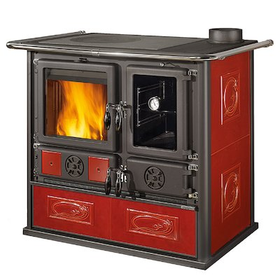 La Nordica Rosa Reverse Wood Burning Range Cooker