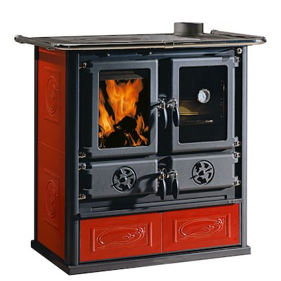 La Nordica Rosetta Wood Burning Range Cooker