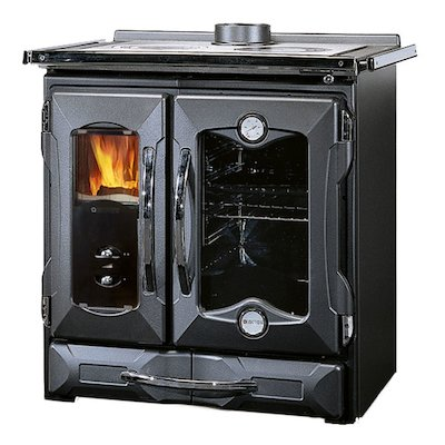 La Nordica Suprema Petitie Mamy Wood Burning Range Cooker