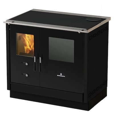 Bronpi Cocina Hydro Wood Burning Boiler Range Cooker