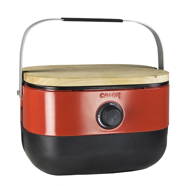 Calor Mini Portable Gas BBQ - Red