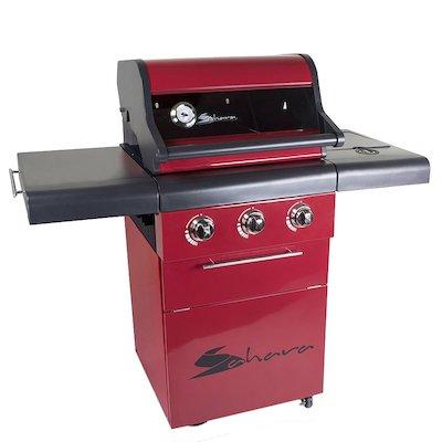 Sahara X350 Pro 3 Burner Gas BBQ