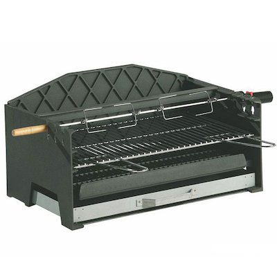 Invicta Alexandrie Cast-Iron Built-In Charcoal BBQ