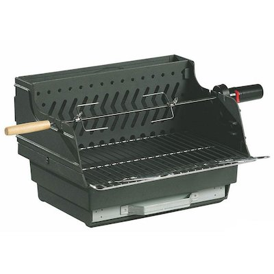 Invicta Assouan Cast-Iron Built-In Charcoal BBQ