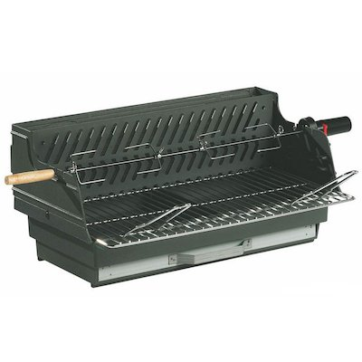 Invicta Louqsor Cast-Iron Built-In Charcoal BBQ