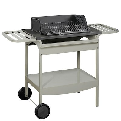 Invicta Madison Grill Cast-Iron Charcoal BBQ