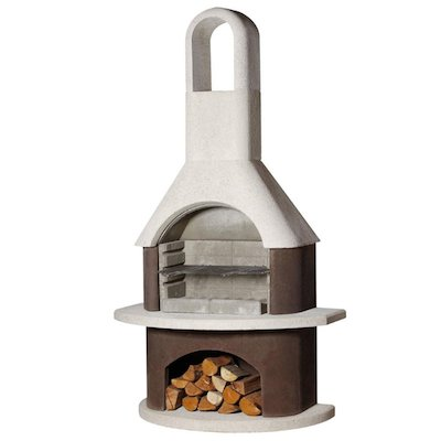 Buschbeck Milano Masonry Charcoal BBQ