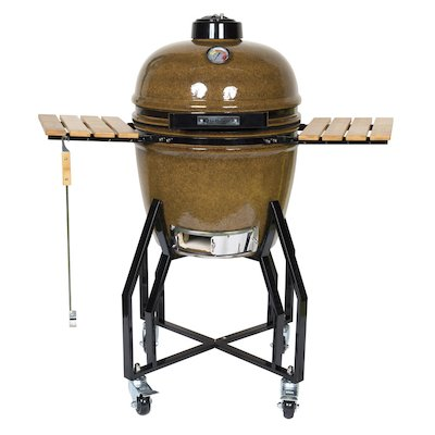 La Hacienda Kamado Medium Ceramic BBQ Oven - With Stand