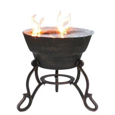 Gardeco Safir Cast-Iron Outdoor Firepit