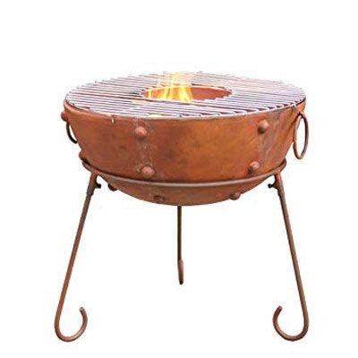 Gardeco Theydon 50 Kadai Outdoor Firepit