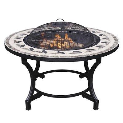 Gardeco Calenta Mosaic Outdoor Firepit