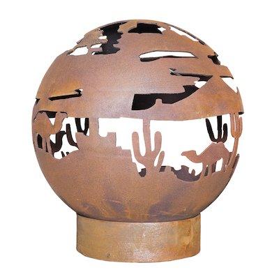 La Hacienda Desert Fire Globe Outdoor Firepit