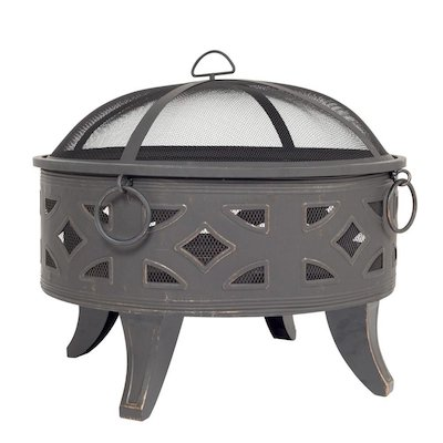 La Hacienda Diamond Outdoor Firepit