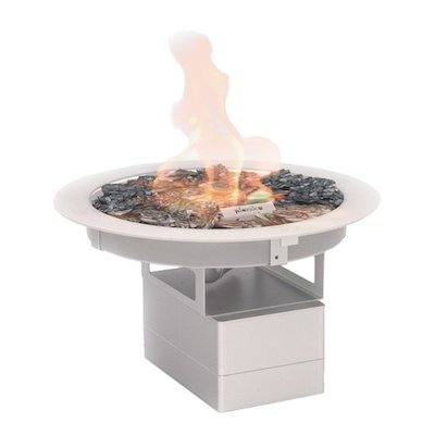 Planika Galio Circular Drop-In Outdoor Gas Fire