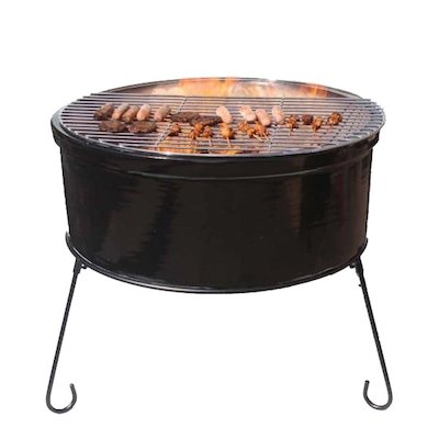 Gardeco Atlas Jumbo Chimalin Fire Clay Firebowl