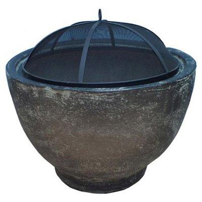 Gardeco Brasilia Clay Firebowl