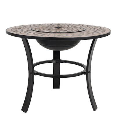 La Hacienda Stratos Mosaic Outdoor Firepit