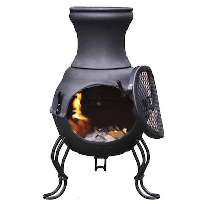 Gardeco Billie Cast-Iron Chiminea