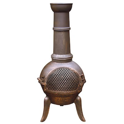 Gardeco Granada 112 Cast-Iron Chiminea
