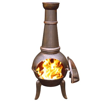 Gardeco Granada 124 Cast-Iron Chiminea