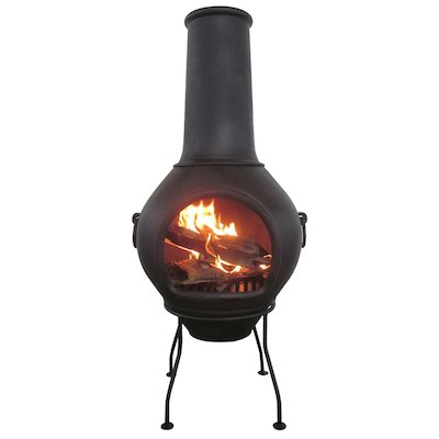 Gardeco Helios XL Cast-Iron Chiminea
