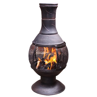Gardeco Opera Large Cast-Iron Chiminea