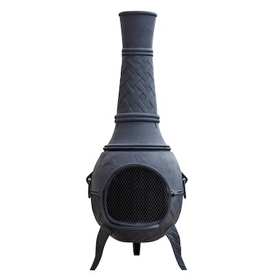 La Hacienda Mega Cast-Iron Chiminea