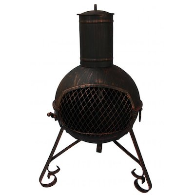 Gardeco Lexie Small Steel Chiminea