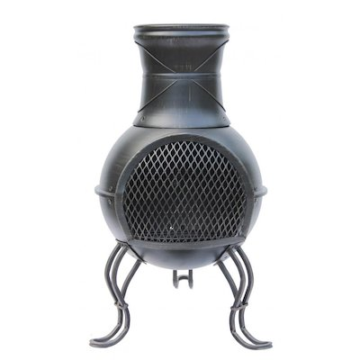 Gardeco Roxie Small Steel Chiminea