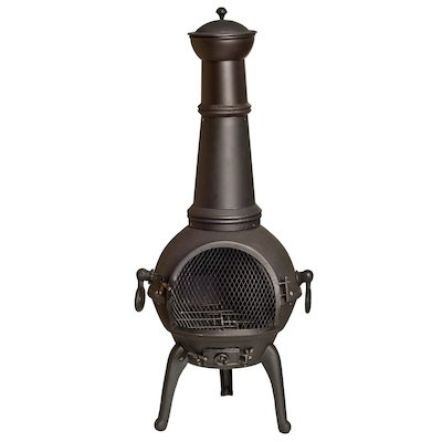 La Hacienda Lisbon XL Steel Chiminea