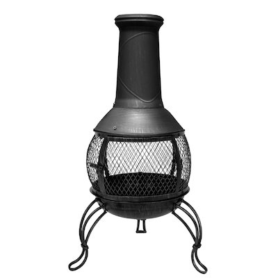 La Hacienda Leon Medium Steel Chiminea