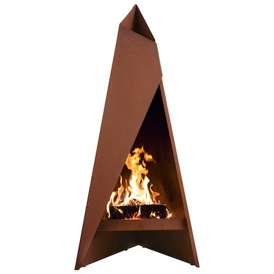 Heta Tipi 147 Outdoor Modern Chiminea