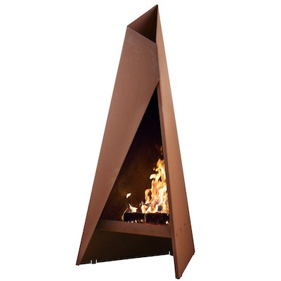 Heta Tipi 120 Outdoor Modern Chiminea