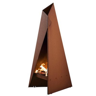 Heta Tipi 96 Outdoor Modern Chiminea