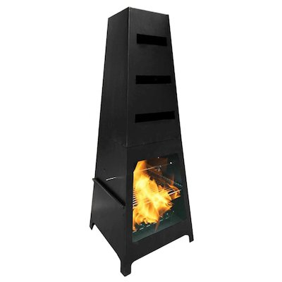 Gardeco Sven Outdoor Modern Chiminea