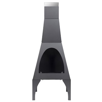 La Hacienda Matrix Medium Outdoor Modern Chiminea