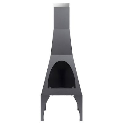 La Hacienda Matrix Large Outdoor Modern Chiminea