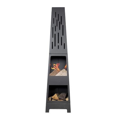 La Hacienda Oxford Outdoor Modern Chiminea