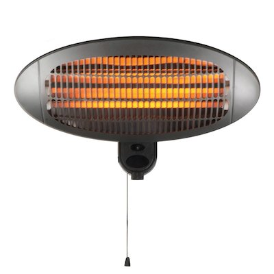 Gardeco Lectro 2000W Wall Mounted Electric Patio Heater