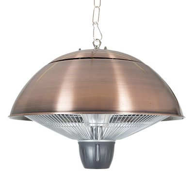 La Hacienda Mushroom Hanging Halogen 1500W Electric Patio Heater